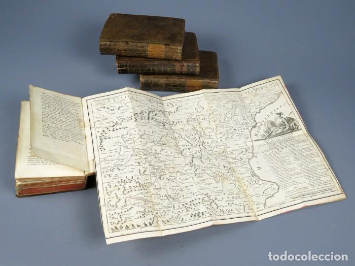 Libros antiguos: EL INGENIOSO HIDALGO DON QUIXOTE DE LA MANCHA-M. DE CERVANTES SAAVEDRA-4TOMOS-MADRID 1782 - Foto 28 - 236511435
