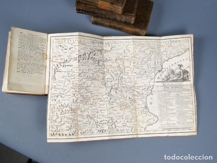 Libros antiguos: EL INGENIOSO HIDALGO DON QUIXOTE DE LA MANCHA-M. DE CERVANTES SAAVEDRA-4TOMOS-MADRID 1782 - Foto 29 - 236511435