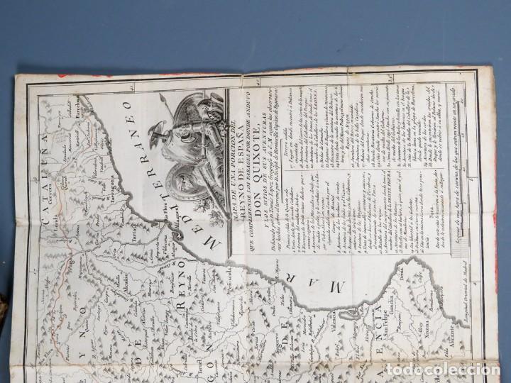 Libros antiguos: EL INGENIOSO HIDALGO DON QUIXOTE DE LA MANCHA-M. DE CERVANTES SAAVEDRA-4TOMOS-MADRID 1782 - Foto 30 - 236511435