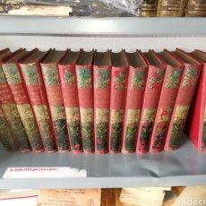 Libri antichi: OBRAS COMPLETAS JULIO VERNE 1A EDICIÓN ESPAÑOLA SÁEZ DE JUBERA FINALES S. XIX. Lote 236737315