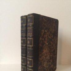 Libros antiguos: OBRAS COMPLETAS DE FIGARO, 1866, DON MARIANO JOSÉ DE LARRA, 2 TOMOS, BAUDRY LIBRERÍA, PARIS.. Lote 237079065