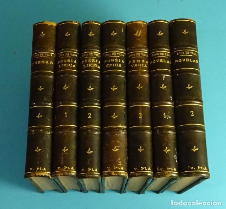 OBRAS DE LOPE DE VEGA. PRÓLOGO, EDICIÓN Y NOTAS CRÍTICAS Y BIBLIOGRÁFICAS DE LUIS GUARNER (Libros antiguos (hasta 1936), raros y curiosos - Literatura - Narrativa - Clásicos)
