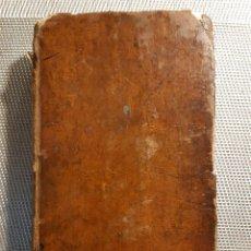 Libros antiguos: LAS AVENTURAS DE TELEMACO POR M DE FENELON 1822. Lote 237745065