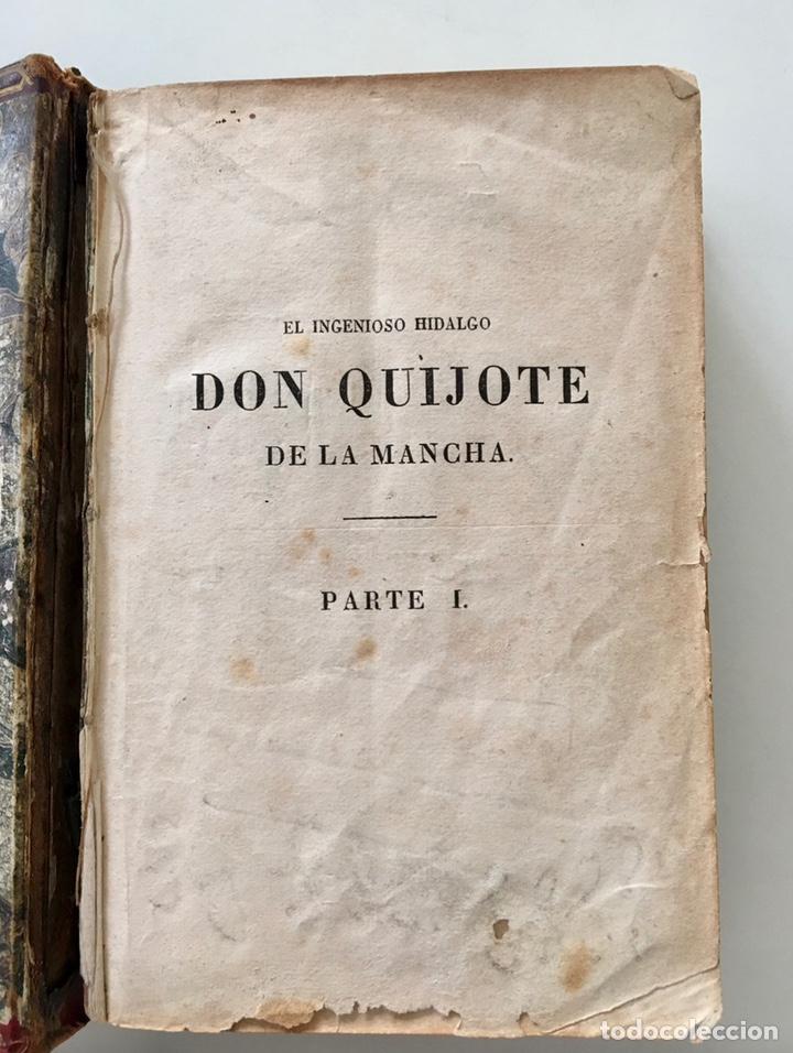 """Libros antiguos: Impresionante """"D. Quijoje"""", edición en miniatura 1827 - Foto 2 - 237957445"""