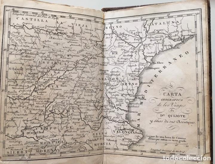"""Libros antiguos: Impresionante """"D. Quijoje"""", edición en miniatura 1827 - Foto 3 - 237957445"""