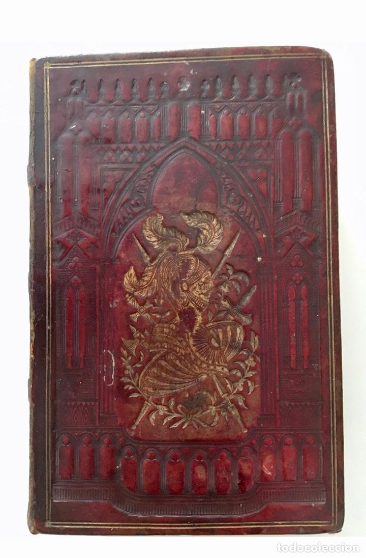 """Libros antiguos: Impresionante """"D. Quijoje"""", edición en miniatura 1827 - Foto 4 - 237957445"""
