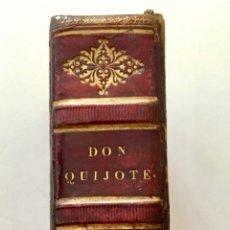 """Libros antiguos: IMPRESIONANTE """"D. QUIJOJE"""", EDICIÓN EN MINIATURA 1827. Lote 237957445"""