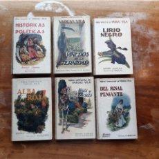 Libros antiguos: OBRAS COMPLETAS DE VARGAS VILA 6 TOMOS. Lote 238225670