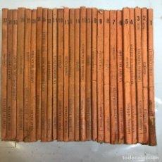 Libros antiguos: BIBLIOTECA POPULAR DE L'AVENÇ - BUEN LOTE 26 EJEMPLARES PRIMEROS NUMEROS - 1903/04. Lote 239441670