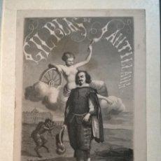 Libros antiguos: AVENTURAS DE GIL BLAS DE SANTILLANA. TEXTO E ILUSTRACIONES AÑO 1850.. Lote 239701235