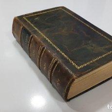 Libros antiguos: 1913. JOSÉ M. DE PEREDA. PEÑAS ARRIBA. TRADICIONALISMO, COSTUMBRISMO, CANTABRIA. PIEL. Lote 240043030