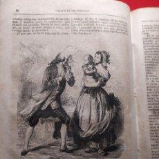 Libros antiguos: 1855. EMILIO. ROUSSEAU. GRABADOS/ IVANHOE. SCOTT. GRABADOS. IMPRENTA DE LAS NOVEDADES.. Lote 240688560