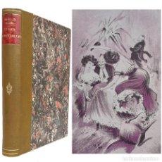 Libri antichi: 1900. BELLE EPOQUE. NOVELA DE COSTUMBRES PARISINAS - PRECIOSAS ILUSTRACIONES DE KONRAD WAGER. 1ª ED. Lote 243206905