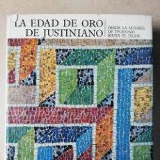 Libros antiguos: AGUILAR.EL UNIVERSO DE LAS FORMAS.LA EDAD DE ORO DE JUSTINIANO.. Lote 243662350