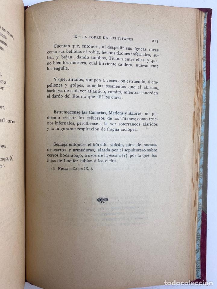 Libros antiguos: L-5486. LA ATLANTIDA, J.VERDAGUER. TRADUCCIO CASTELLANA PER MELCIOR DE PALAU. 1905. - Foto 12 - 244176120