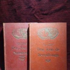 Libros antiguos: DON JOAN SERRALLONGA. VÍCTOR BALAGUER.. Lote 244732225
