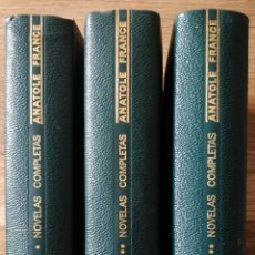 Libri antichi: AGUILAR NOVELAS COMPLETAS ANATOLE FRANCE, PRIMERA EDICIÓN 1967, OBRA COMPLETA. Lote 244871580