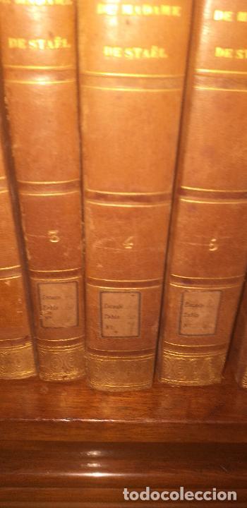 Libros antiguos: MADAME DE STAEL OBRAS COMPLETAS PUBLICADAS POR SU HIJO 1830 UNICOS EJEMPLARES FIRMADAS POR SU PROPIE - Foto 8 - 245077080