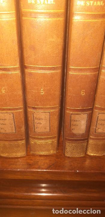 Libros antiguos: MADAME DE STAEL OBRAS COMPLETAS PUBLICADAS POR SU HIJO 1830 UNICOS EJEMPLARES FIRMADAS POR SU PROPIE - Foto 9 - 245077080