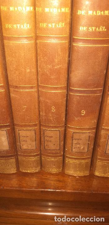 Libros antiguos: MADAME DE STAEL OBRAS COMPLETAS PUBLICADAS POR SU HIJO 1830 UNICOS EJEMPLARES FIRMADAS POR SU PROPIE - Foto 10 - 245077080
