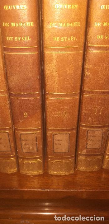Libros antiguos: MADAME DE STAEL OBRAS COMPLETAS PUBLICADAS POR SU HIJO 1830 UNICOS EJEMPLARES FIRMADAS POR SU PROPIE - Foto 12 - 245077080