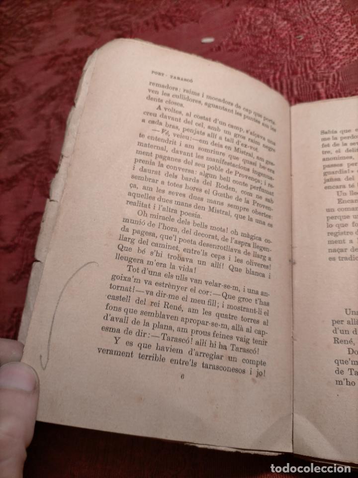 Libros antiguos: ALFONS DAUDET PORT TARASCO AVENTURES DE LILUSTRE TARTARIN CATALÀ SANTIAGO RUSIÑOL - Foto 5 - 245082145