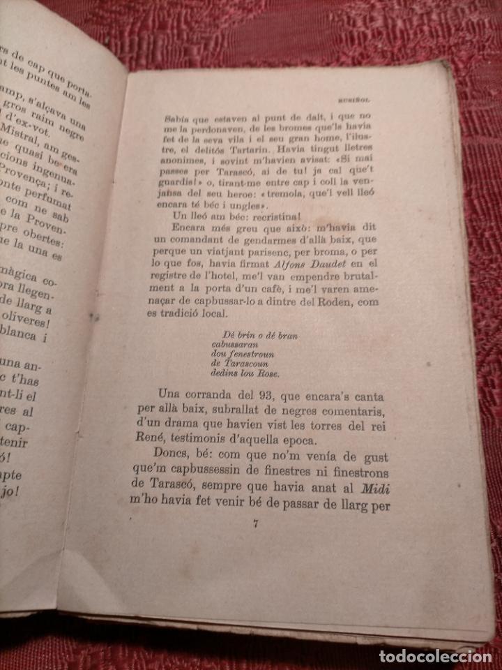 Libros antiguos: ALFONS DAUDET PORT TARASCO AVENTURES DE LILUSTRE TARTARIN CATALÀ SANTIAGO RUSIÑOL - Foto 6 - 245082145
