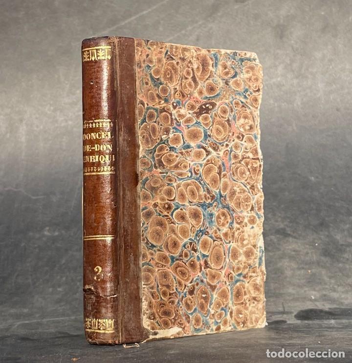 1834 - EL DONCEL DE DON ENRIQUE EL DOLIENTE - HISTORIA CABALLERESCA - MARIANO JOSE DE LARRA (Libros antiguos (hasta 1936), raros y curiosos - Literatura - Narrativa - Clásicos)