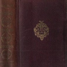 Libros antiguos: PUBLIO VIRGILIO MARON : OBRAS COMPLETAS (AGUILAR, 1934) PRÓLOGO DE LORENZO RIBER. Lote 245259145