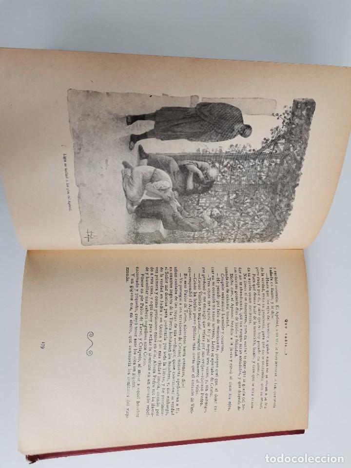 Libros antiguos: L-5920. QUO VADIS…? NOVELA DE LOS TIEMPOS DE NERÓN. HENRIK SIENKIEWICZ.1923.ADAPTACION ESPAÑOLA. - Foto 6 - 245423425
