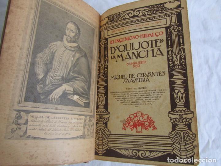 Libros antiguos: Don Quijote de la Mancha, 1915, Labarta - Foto 9 - 245458200