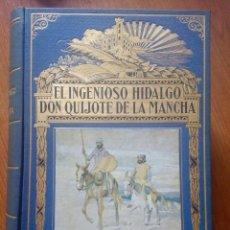 Libros antiguos: EL INGENIOSO HIDALGO DON QUIJOTE DE LA MANCHA. MIGUEL DE CERVANTES. EDITA: RAMÓN SOPENA (A.1935). Lote 246077845
