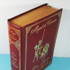 Libros antiguos: DON QUIJOTE DE LA MANCHA, EDICION INTEGRA CON GRABADOS DE DORE, CEDRO 1978 832 PAG 25 X 19 X 6 CM. Lote 246092035
