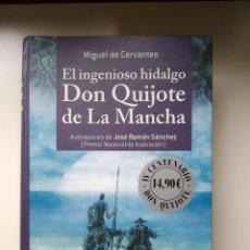 Libros antiguos: MIGUEL DE CERVANTES - EL INGENIOSO HIDALGO DON QUIJOTE DE LA MANCHA - ANAYA ILUST JOSE RAMON SANCHEZ. Lote 246254735