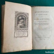 Libros antiguos: AVENTURES ET ESPLIÈGLERIES DE LAZARILLE DE TORMES, ECRITES PAR LUI-MÊME. NOUVELLE ÉDITION,... 1801. Lote 246327070