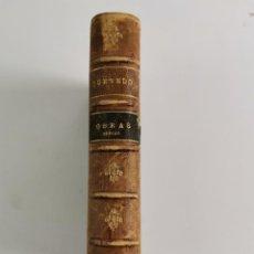 Libros antiguos: L-781. OBRAS SERIAS DE D. F. DE QUEVEDO Y VILLEGAS.PARIS,LIBRERIA GARNIER HERMANOS,1884.. Lote 246505835