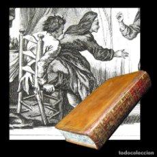 Libros antiguos: AÑO 1778 MONJA FORNICANDO LIBRO PROHIBIDO DIABLO 18 EN MUNDO CUENTOS ERÓTICOS LA FONTAINE GRABADOS. Lote 246505440