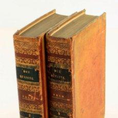 Libri antichi: EL INGENIOSO HIDALGO DON QUIJOTE DE LA MANCHA, 1840, 2 TOMOS, IMPR. ANTONIO BERGNES, BARCELONA.. Lote 246669510