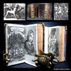 Libros antiguos: AÑO 1695 INFIERNO CABALLO DE TROYA VIRGILIO TRAVESTIDO SÁTIRA SCARRON 12 GRABADOS SOLO 1 EN ESPAÑA. Lote 246704635