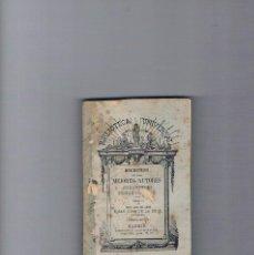 Libros antiguos: FRAY LUIS LEON SAN JUAN CRUZ POESÍAS BIBLIOTECA UNIVERSAL ANTIGUO COLECCIONISTA. Lote 49638462