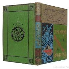 Libros antiguos: 1900 - BARONESA DE BRACKEL: NORA - PRECIOSO LIBRO MODERNISTA ILUSTRADO CON GRABADOS. Lote 263228755