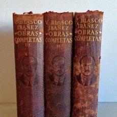 Libros antiguos: VICENTE BLASCO IBÁÑEZ EDT. AGUILAR. Lote 247569500