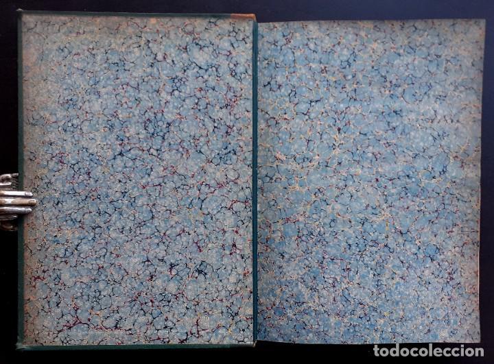Libros antiguos: 1875 - Bernardino de Saint-Pierre: Pablo y Virginia + Novelas de Gustavo Aimard - Grabados - Piel - Foto 3 - 263229370