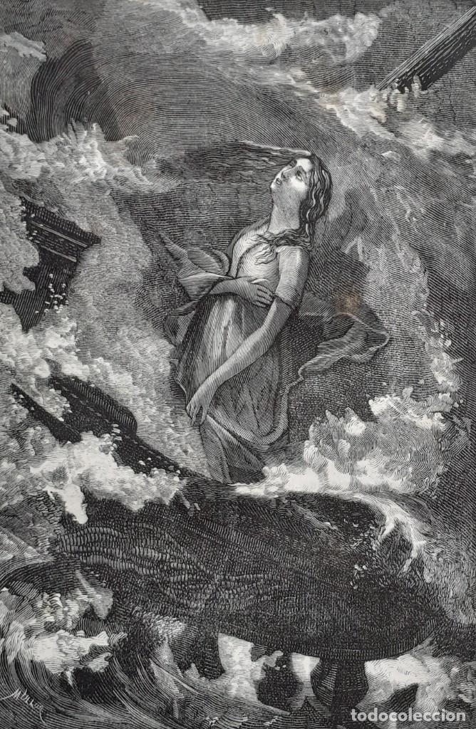 Libros antiguos: 1875 - Bernardino de Saint-Pierre: Pablo y Virginia + Novelas de Gustavo Aimard - Grabados - Piel - Foto 11 - 263229370