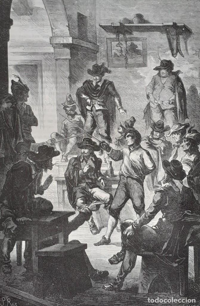Libros antiguos: 1875 - Bernardino de Saint-Pierre: Pablo y Virginia + Novelas de Gustavo Aimard - Grabados - Piel - Foto 15 - 263229370