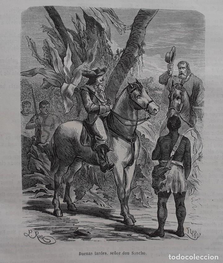 Libros antiguos: 1875 - Bernardino de Saint-Pierre: Pablo y Virginia + Novelas de Gustavo Aimard - Grabados - Piel - Foto 23 - 263229370