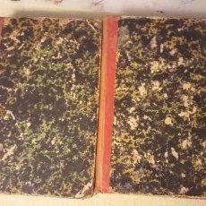 Libros antiguos: DON QUIJOTE D ELA MANCHA 2 TOMOS 1857 EDICION ILUSTRADA CON LAS NOTAS DE PELLICER CLEMENCIA Y OTROS. Lote 248062550