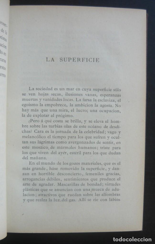 Libros antiguos: 1878. 1ª Ed. ¡Dedicado por el Autor! - Martínez Pedrosa: Sombras. Rasgos de la Fisonomía Social - Foto 8 - 263228855