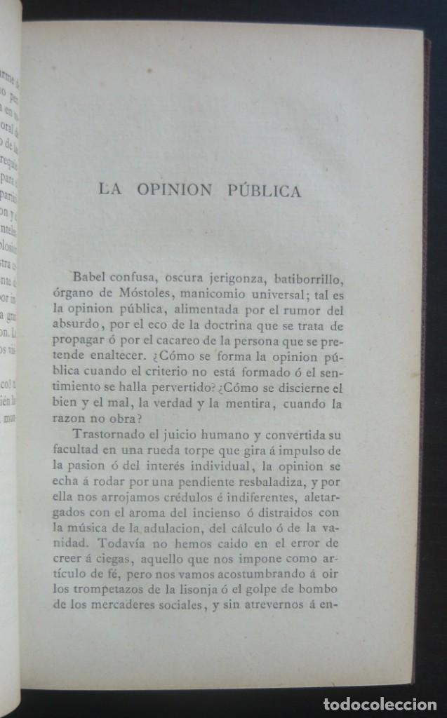 Libros antiguos: 1878. 1ª Ed. ¡Dedicado por el Autor! - Martínez Pedrosa: Sombras. Rasgos de la Fisonomía Social - Foto 9 - 263228855