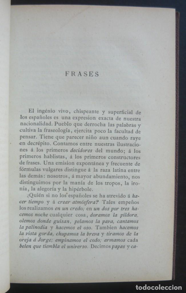 Libros antiguos: 1878. 1ª Ed. ¡Dedicado por el Autor! - Martínez Pedrosa: Sombras. Rasgos de la Fisonomía Social - Foto 10 - 263228855